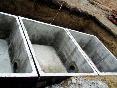 Betonový septik vícekomorový