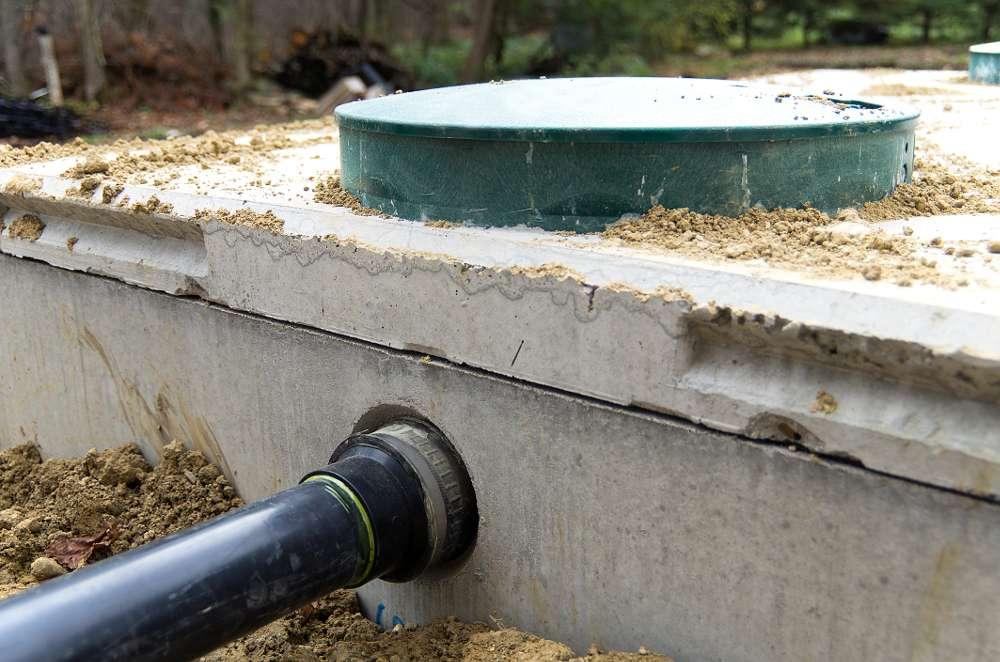 Napojení žumpy na vývod odpadní vody