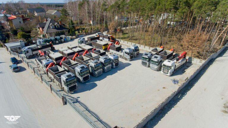 Doprava betonových jímek
