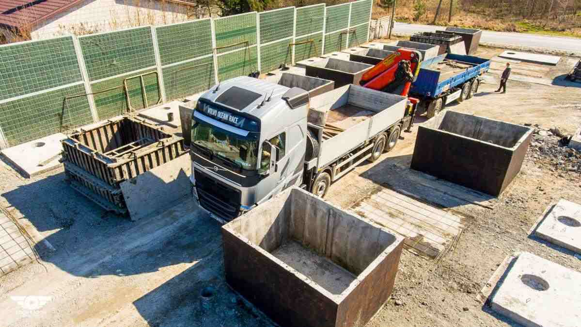 Výroba betonových žump a septiků