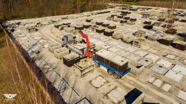 Výroba a doprava betonových septiků