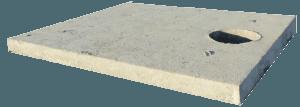 betonove viko na jimku