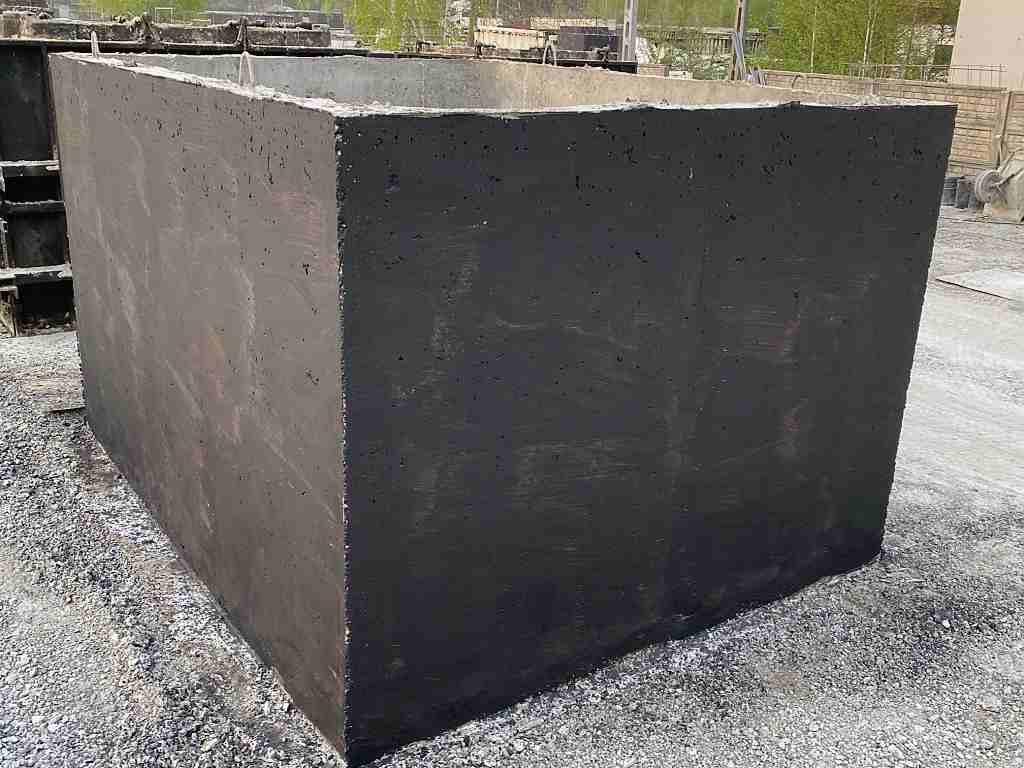 betonová odpadní nádrž