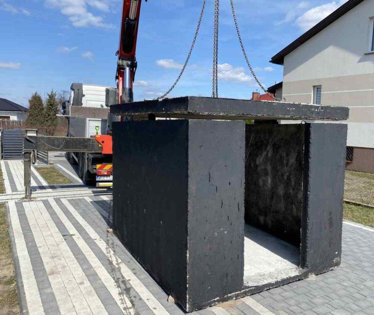 Prefabrikovaný betonový sklep