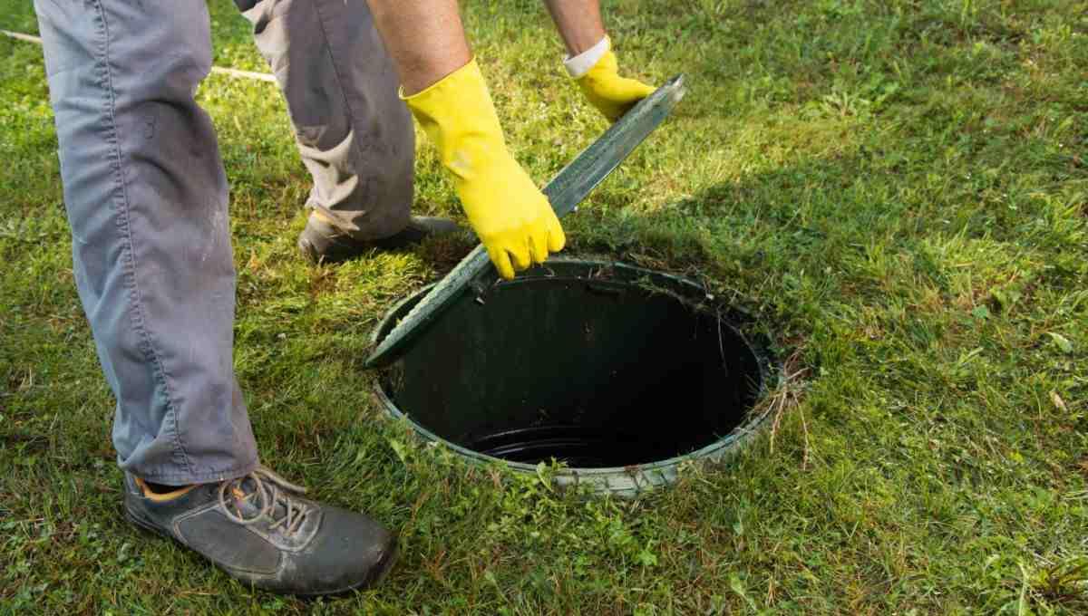 Údržba betonového septiku